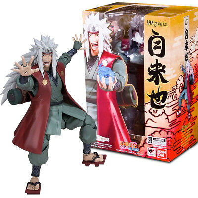 AUTHENTIC SH Figuarts Jiraiya Naruto Action Figure Bandai Tamashii SHIP FROM USA