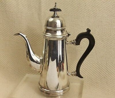 """Vintage Silver Plated Tall Elegant Coffee or Chocalate Pot 10 1/2"""" tall"""