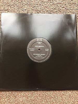 """New Mission - Impossible Mission 12"""" Italo House 1991 OUT Italy OUT 439 MINT"""