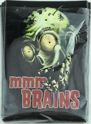 Pack of 60 Legion Zombie MMM BRAINS Deck Protectors Card Sleeves Plastic NEW