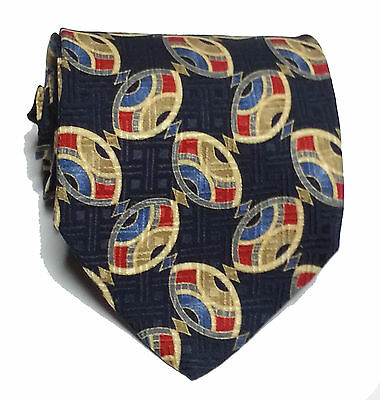 """Executive Collection Men Dress Silk Tie 57"""" long 3.75"""" wide Made in ITALY"""