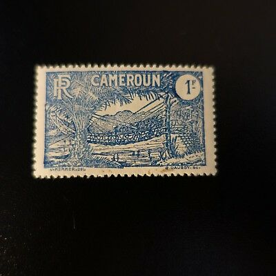 France Colonie Cameroun N°127 Neuf ** Luxe Mnh