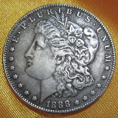 39MM COPPER CORE USA United Morgan Dollar $1 1888 Silver Coin