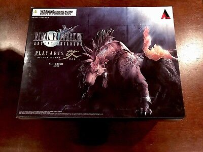 Final Fantasy Advent Children Play Arts Kai Red XIII 13 Authentic
