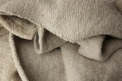 Antique 5POUND linen sheet old linen 50X65 hemp linen GORGEOUS WASHED HEAVY hemp