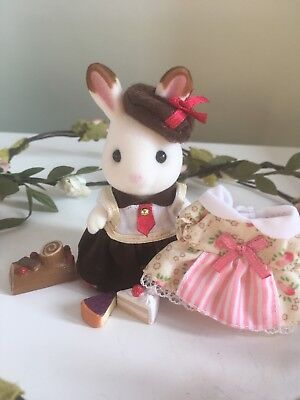 Sylvanian Families Cake Chef Chocolate Rabbit UK Fan Club Exclusive Patisserie