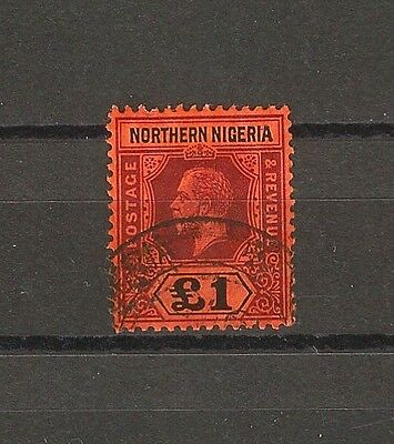 NORTHERN NIGERIA 1912 SG 52 Fine Used Cat £110