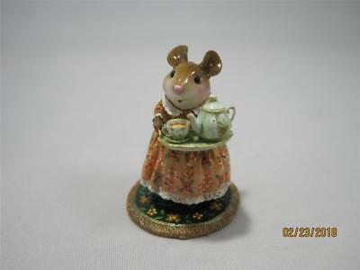Wee Forest Folk Limited Edition A Cosy Tea Fall - WFF Box & Authenticity Card