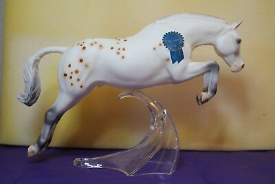 Breyer Mr. Chips matte jumping pony appaloosa