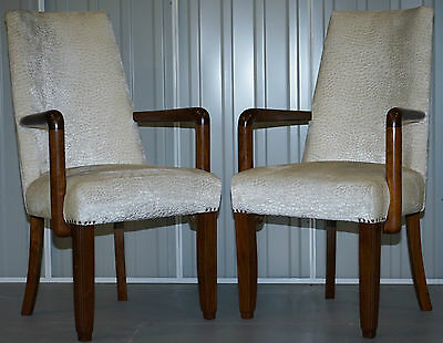 Pair Of Mid Century Modern 1960's Danish Rosewood Open Occasional Armchairs