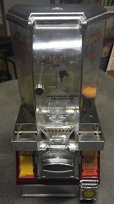 Candy Machine Quarter Operated Test Your Skills Basketball Themed CounterTop#304