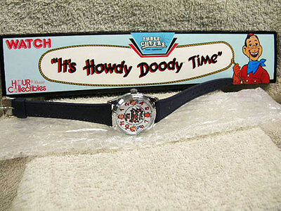 Classic Howdy Doody watch, 40th Anv. Wind up, New Old Stock, MINT, in box,