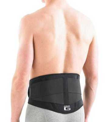 Back Brace with Power Straps