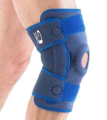 Stabilized Hinged Open Knee Support