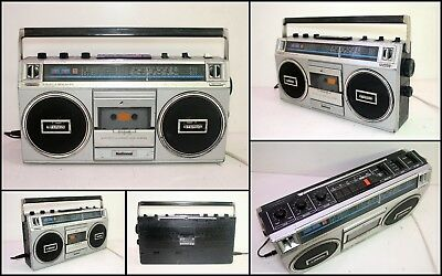 1980's NATIONAL RX-4945FA 4 Band Radio Cassette Boombox