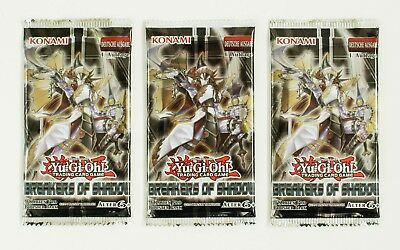 Yu-Gi-Oh! 3 Booster Pack Breakers of Shadow Deusche Ausgabe - 1. Auflage NEU