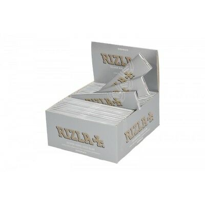 Rizla Silver | Blue Green Red Rolling Papers King Size Slim Skins 110mm