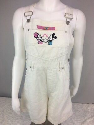 Vintage Womens Mickey Unlimited By Jerry Leigh Short Overalls Size Medium