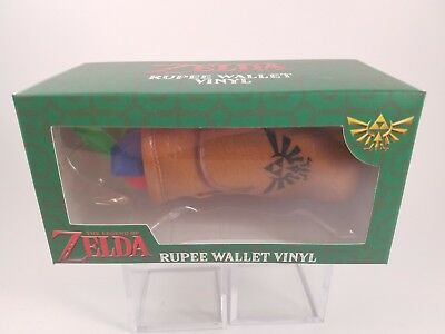 The Legend of Zelda Rupees Set Rupee Wallet Vinyl Figure Culturefly HTF