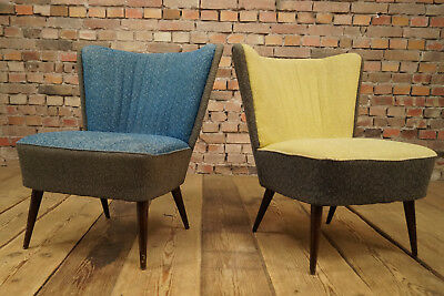 Rockabilly Cocktail Chair Lounge Chair Vintage Mid-Century Club Chair 50er 1/2