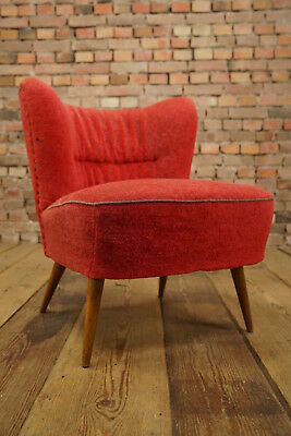 Rockabilly Cocktail Chair Lounge Chair Vintage Mid-Century Club Chair 50er 9