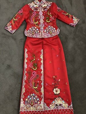 Hand Beaded Chinese Bridal Gown