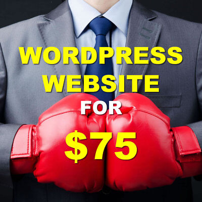 5-Page Custom Website - WordPress Web Design with Unlimited Revisions