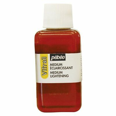 Pebeo Vitrail Lightening Medium for Glass Painting & Stained glass Effect 250ml