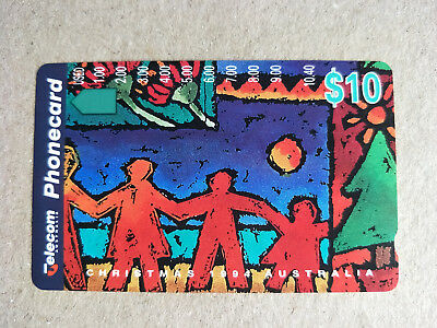 Mint $10 Christmas 1994 Limited Edition Phonecard  Prefix 587