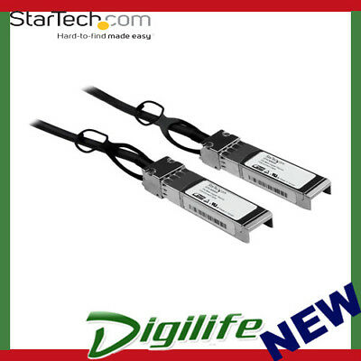 STARTECH 5m Cisco Compatible SFP+ 10-Gigabit Ethernet 10GbE Direct Attach Cable