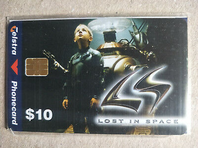 $10 Lost in Space Will Robinson Phonecard 98010070P Exp 06/2000 Mint & Sealed