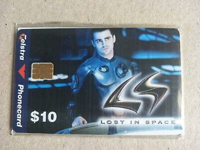 $10 Lost in Space Don West Phonecard 98010069P Exp 06/2000 Mint & Sealed