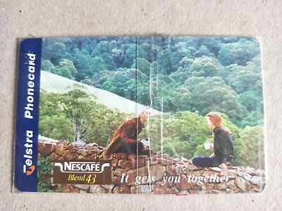 $5 Nescafe Phonecard 97005001A Exp 08/99 Mint & Sealed