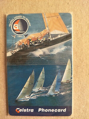 $10 1997 Telstra Sydney to Hobart Phonecard 97010007N Exp 01/2000 Mint & Sealed
