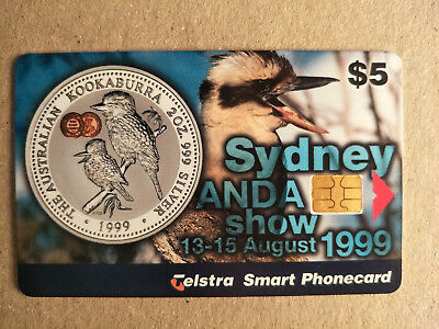 $5 Sydney ANDA Show 1999 Phonecard  990005047P Exp 04/2001 800 Issued