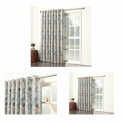 Sun Zero Kara Energy Efficient Patio Door Curtain Panel 100 X 84