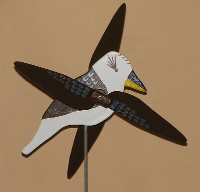 Kookaburra Whirligig With Spinning Wings