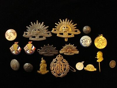 Australia and Others Military Force Badges and Collectible Bulk RAAT #KD