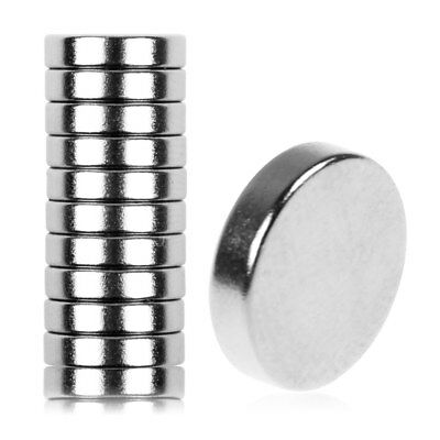New 10pcs Strong Small Disc Magnets 5mm x 2mm Round Rare Earth Neodymium HOT