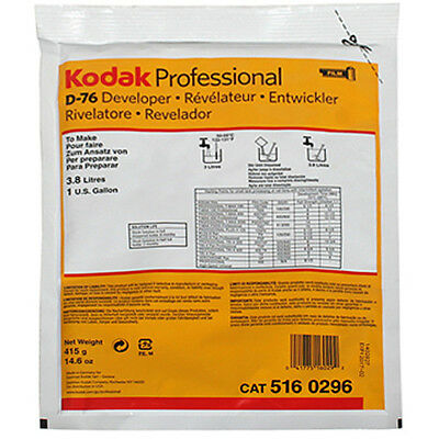 Kodak D-76 Black & White Film Developer Powder 3.8L(1Gallon) CAT 516 0296
