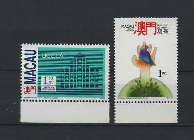 Macao 1993, n. 2 stamps .