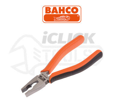 """BAHCO 2678G-180 S-Line 180mm (7"""") Forged Combination Side Cutter / Cutting Plier"""