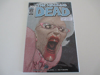 The Walking Dead #100 Frank Quitely Cover Variant Kirkman Bag/Board since NEW