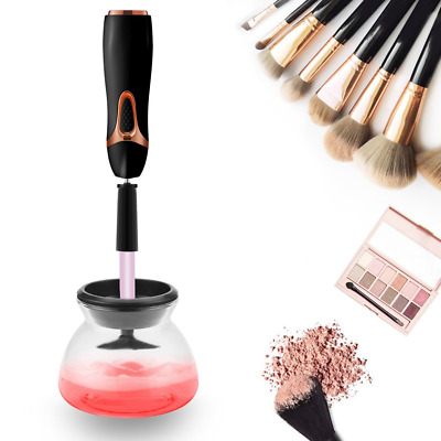 Makeup Brush Cleaner and Dryer, Completely Clean in Seconds and Dry in 360 Rotat