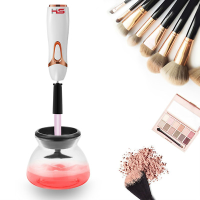 Homestyle Automatic Makeup Brush Cleaner Kit Deep Clean Electric Machine 360 Deg