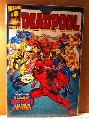Deadpool Number 0 , Wizard , Rare