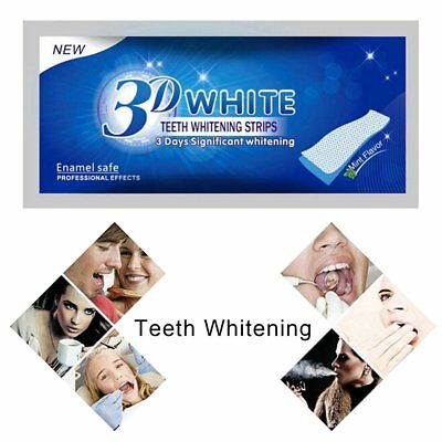 Professional 3D GO White Effects Teeth Whitening Strips Bleaching Whitestrips KP
