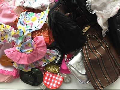 Interesting Bundle Of Sindy/barbie Dolls Clothes And Accessories