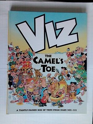 Viz comic Annual THE CAMEL'S TOE. HARDBACK BOOK
