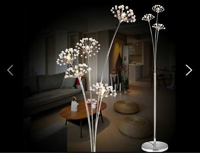 D88 Modern LED 5*Lights Height 175CM Reading Decoration Floor Lamp Light
